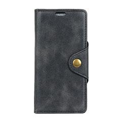 Leather Case Stands Flip Cover L01 Holder for Asus Zenfone 5 ZE620KL Black