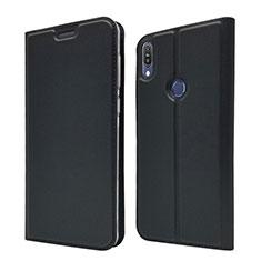 Leather Case Stands Flip Cover L01 Holder for Asus Zenfone Max Pro M1 ZB601KL Black