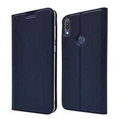 Leather Case Stands Flip Cover L01 Holder for Asus Zenfone Max Pro M1 ZB601KL Blue