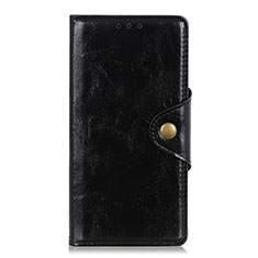 Leather Case Stands Flip Cover L01 Holder for Huawei Enjoy 10S Black