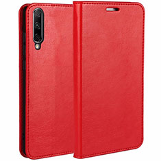 Leather Case Stands Flip Cover L01 Holder for Huawei Honor 9X Pro Red