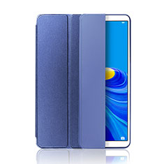 Leather Case Stands Flip Cover L01 Holder for Huawei MatePad 10.8 Blue