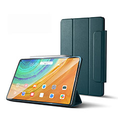 Leather Case Stands Flip Cover L01 Holder for Huawei MatePad Pro 5G 10.8 Midnight Green