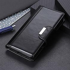 Leather Case Stands Flip Cover L01 Holder for Nokia 5.3 Black