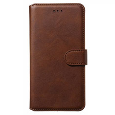 Leather Case Stands Flip Cover L01 Holder for Nokia 6.2 Brown
