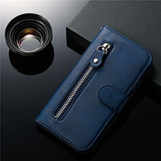 Leather Case Stands Flip Cover L01 Holder for Samsung Galaxy S20 5G Blue