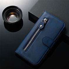 Leather Case Stands Flip Cover L01 Holder for Samsung Galaxy S20 Plus 5G Blue