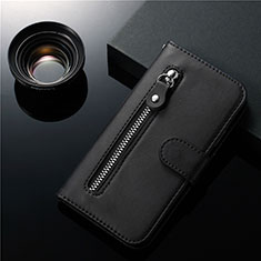 Leather Case Stands Flip Cover L01 Holder for Samsung Galaxy S20 Ultra 5G Black