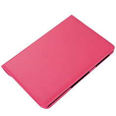 Leather Case Stands Flip Cover L01 Holder for Samsung Galaxy Tab S6 Lite 10.4 SM-P610 Hot Pink