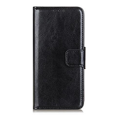 Leather Case Stands Flip Cover L01 Holder for Sony Xperia 5 II Black