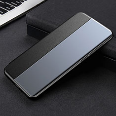 Leather Case Stands Flip Cover L01 Holder for Xiaomi Mi 11 5G Black