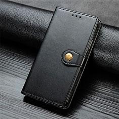 Leather Case Stands Flip Cover L01 Holder for Xiaomi Mi Note 10 Lite Black