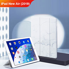 Leather Case Stands Flip Cover L02 for Apple iPad Air 3 White