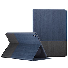 Leather Case Stands Flip Cover L02 for Apple iPad Pro 9.7 Blue