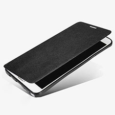 Leather Case Stands Flip Cover L02 for Samsung Galaxy Note 5 N9200 N920 N920F Black