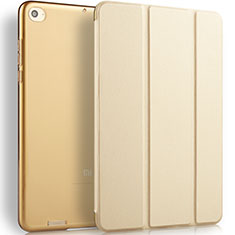Leather Case Stands Flip Cover L02 for Xiaomi Mi Pad 2 Gold