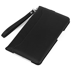 Leather Case Stands Flip Cover L02 Holder for Amazon Kindle 6 inch Black