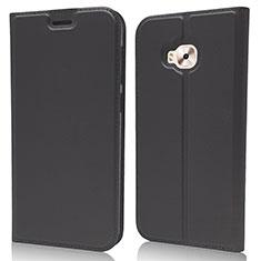 Leather Case Stands Flip Cover L02 Holder for Asus Zenfone 4 Selfie Pro Black