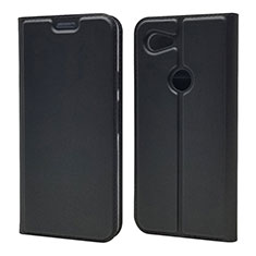Leather Case Stands Flip Cover L02 Holder for Google Pixel 3a XL Black