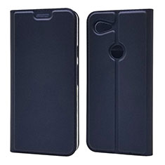 Leather Case Stands Flip Cover L02 Holder for Google Pixel 3a XL Blue