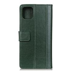 Leather Case Stands Flip Cover L02 Holder for Google Pixel 4 Green