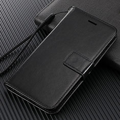 Leather Case Stands Flip Cover L02 Holder for Huawei Enjoy 10e Black