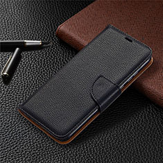 Leather Case Stands Flip Cover L02 Holder for Huawei Honor 9A Black