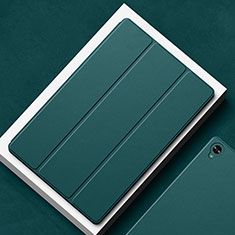 Leather Case Stands Flip Cover L02 Holder for Huawei MatePad 10.8 Midnight Green