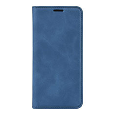 Leather Case Stands Flip Cover L02 Holder for Huawei P40 Pro Blue