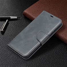 Leather Case Stands Flip Cover L02 Holder for Samsung Galaxy S20 FE 5G Black