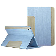 Leather Case Stands Flip Cover L03 for Apple iPad Mini 2 Sky Blue