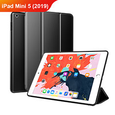 Leather Case Stands Flip Cover L03 for Apple iPad Mini 5 (2019) Black