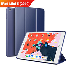 Leather Case Stands Flip Cover L03 for Apple iPad Mini 5 (2019) Blue