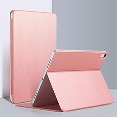 Leather Case Stands Flip Cover L03 for Apple iPad Pro 12.9 (2018) Pink