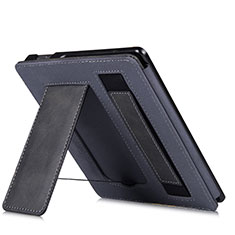Leather Case Stands Flip Cover L03 Holder for Amazon Kindle Oasis 7 inch Black