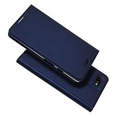 Leather Case Stands Flip Cover L03 Holder for Google Pixel 3 XL Blue