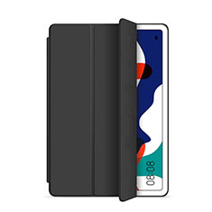 Leather Case Stands Flip Cover L03 Holder for Huawei MatePad 5G 10.4 Black