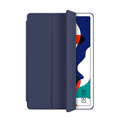 Leather Case Stands Flip Cover L03 Holder for Huawei MatePad 5G 10.4 Blue