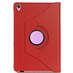 Leather Case Stands Flip Cover L03 Holder for Huawei MediaPad M6 8.4 Red