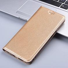 Leather Case Stands Flip Cover L03 Holder for LG K22 Gold