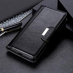 Leather Case Stands Flip Cover L03 Holder for LG Stylo 6 Black