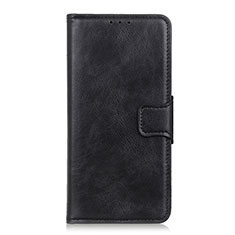 Leather Case Stands Flip Cover L03 Holder for Oppo Reno3 A Black
