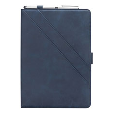 Leather Case Stands Flip Cover L03 Holder for Samsung Galaxy Tab S5e 4G 10.5 SM-T725 Blue