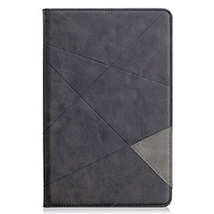 Leather Case Stands Flip Cover L03 Holder for Samsung Galaxy Tab S6 Lite 4G 10.4 SM-P615 Black