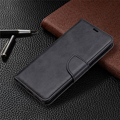 Leather Case Stands Flip Cover L03 Holder for Sony Xperia L4 Black