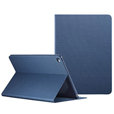 Leather Case Stands Flip Cover L04 for Apple iPad Mini 4 Blue