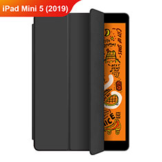 Leather Case Stands Flip Cover L04 for Apple iPad Mini 5 (2019) Black