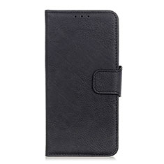 Leather Case Stands Flip Cover L04 Holder for Alcatel 3X Black