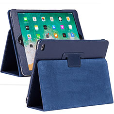 Leather Case Stands Flip Cover L04 Holder for Apple iPad 10.2 (2020) Blue
