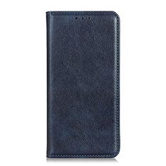 Leather Case Stands Flip Cover L04 Holder for Google Pixel 4 XL Blue